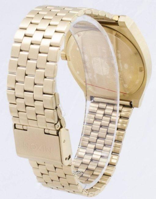 Nixon Time Teller alle Gold A045-511-00 Herrenuhr