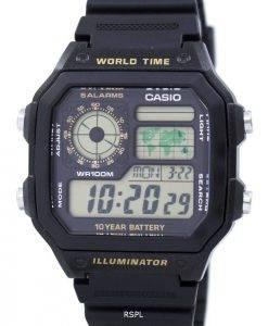 Casio-Jugend-Serie digitale Welt Zeit AE-1200WH-1BVDF AE-1200WH-1BV Herrenuhr