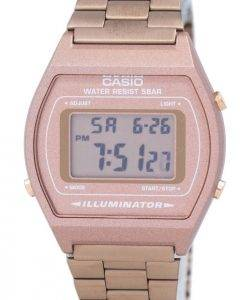 Casio Digital Quarz Edelstahl 50M Illuminator B640WC-5ADF B640WC-5A Herrenuhr