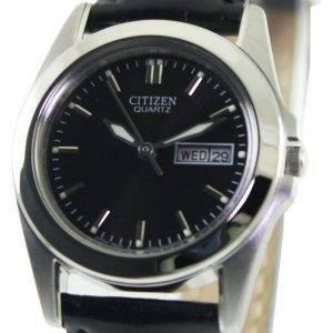 Citizen Quartz Black Dial EQ0560-09 Damenuhr