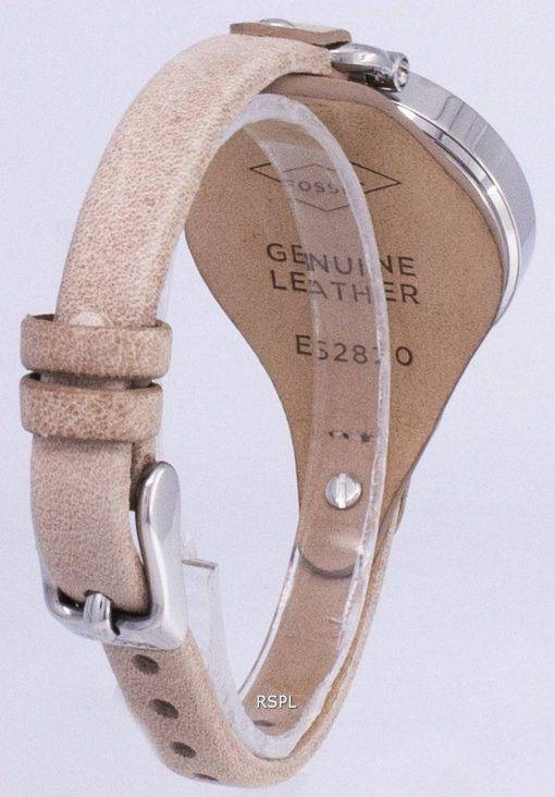 Fossil Georgia Sand Leder ES2830 Damenuhr
