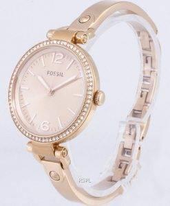 Fossil Georgien Glitzer Armband Crystal ES3226 Damenuhr