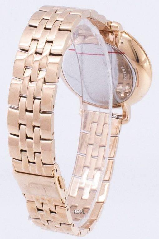 Fossil Damenuhr für Jacqueline Rose Gold-Ton Analog ES3435