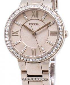 Fossil Virginia ES4482 Diamant Akzenten Quarz Damenuhr