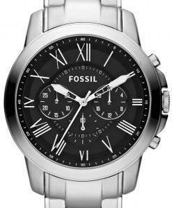Fossil gewähren Chronograph-schwarzes Zifferblatt FS4736 Herren Uhr