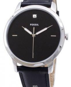 Fossilen minimalistischen FS5497 Quarz Analog Herrenuhr