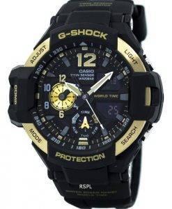 Casio G-Shock GRAVITYMASTER Twin Sensor Welt Zeit GA-1100-9 G Herrenuhr