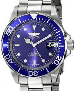 Invicta Pro Treiber automatische blaues Zifferblatt INV9094/9094 Herrenuhr