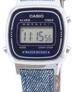 Casio Digital-LA670WL-2A2 Quarz Damenuhren