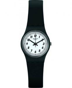 Swatch Originals etwas schwarz Damenuhr Analog Quarz LB184