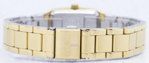 Casio Enticer analoge schwarzes Zifferblatt LTP-1165N-1CRDF LTP-1165N-1CR Damenuhr