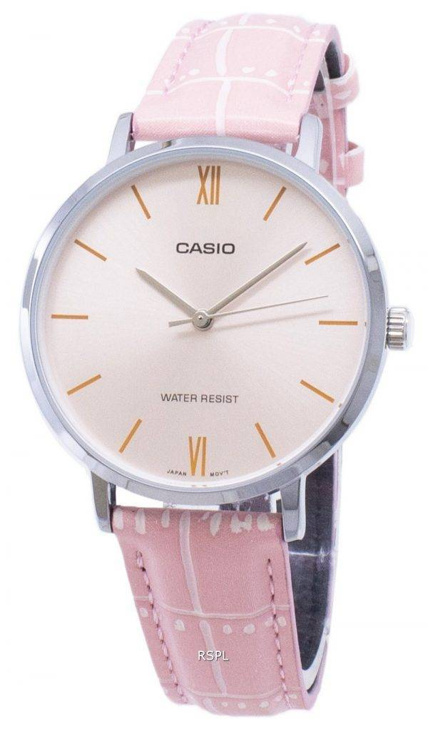 Casio Quarz LTP-VT01L-4 b Analog Damenuhren