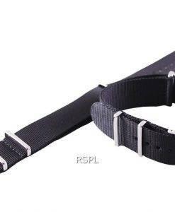 Seiko 22mm schwarz Nato Armband für SKX007, SKX009, SKX011, SRP497, SRP641