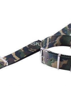 Armee-Nato-Armband 22mm für SKX007, SKX009, SKX011, SRP497, SRP641