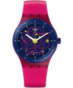 Swatch Originals Sistem Rosa automatische SUTR401 Unisex-Uhr