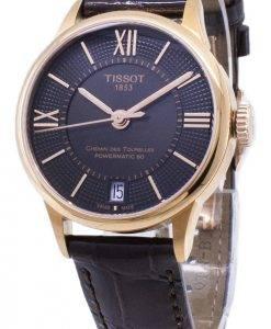 Tissot T-Classic Powermatic 80 T099.207.36.448.00 T0992073644800 Automatic Damenuhren
