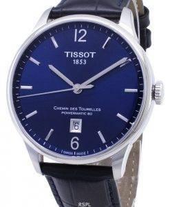 Tissot T-Classic Powermatic 80 T099.407.16.047.00 T0994071604700 Automatic Analog Herrenuhren