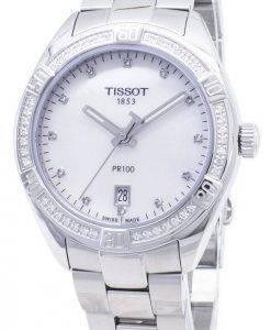 Tissot T-KClassic PR 100 Lady Sport T101.910.61.116.00 T1019106111600 Diamond Accents Quarz Damenuhren