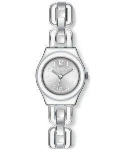 Swatch Ironie weiße Kette Quarz YSS254G Damenuhr