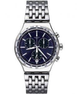 Swatch Ironie kleiden mein Handgelenk Chronograph Tachymeter YVS445G Herrenuhr