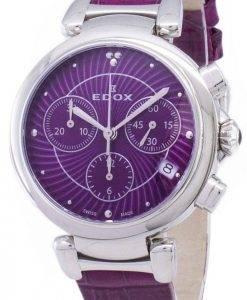 EDOX LaPassion 102203CROIN 10220 3 ROIN Chronograph Quartz Damenuhr