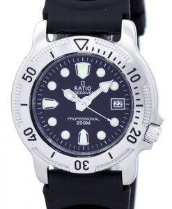 Ratio II Free Diver Professional 200M Herrenuhr Quarz 22AD202