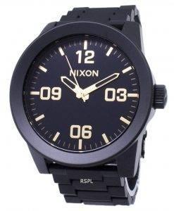 Nixon Corporal SS A346-1041-00 Analog Quarz Herrenuhr