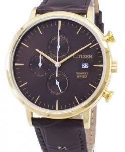 Citizen Chronograph AN3612-09 X Quarz Analog Herrenuhr