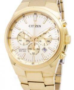 Citizen Analog Chronograph Quarz AN8172 - 53P Herrenuhr