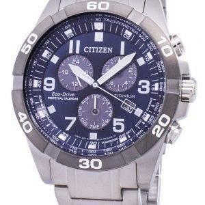 Citizen Eco-Drive Brycen Titan Chronograph ewiger Kalender BL5558 - 58L Herrenuhr