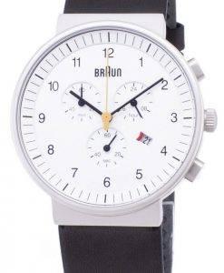 Braun Classic BN0035WHBKG Chronograph Quartz Herrenuhr