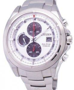 Citizen Eco-Drive Chronograph Tachymeter Power Reserve CA0550-52A Herrenuhr