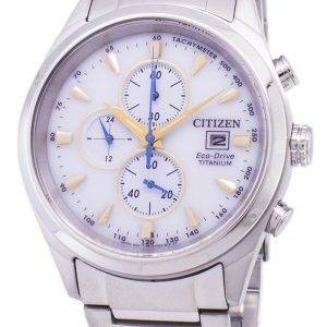 Citizen Eco-Drive Titan Chronograph Tachymeter CA0650-82B Herrenuhr
