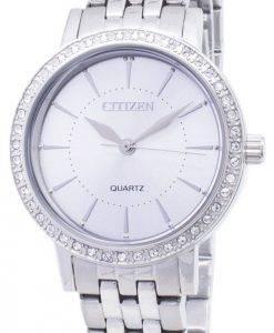 Citizen Quartz EL3040-80A analoge Diamant Akzenten Damenuhr