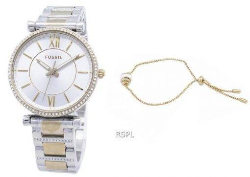 Fossil Carlie Mini ES4517SET Quartz Analog Damen uhr