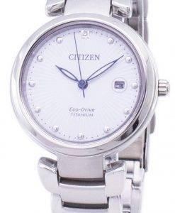 Citizen Eco-Drive Super Titanium EW2500-88A Damenuhr