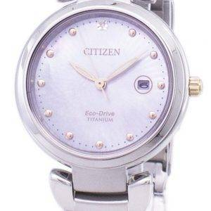 Citizen Eco-Drive Super Titanium EW2506-81Y Damenuhr