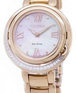 Citizen Eco-Drive EX1122 - 58d Diamant Damenuhr