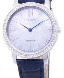 Citizen Eco-Drive EX1480 - 15D Diamant Akzenten Analog Damenuhr