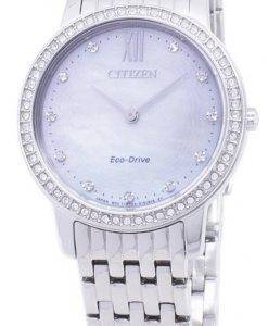 Citizen Eco-Drive EX1480-82D Diamant Akzenten Analog Damenuhr