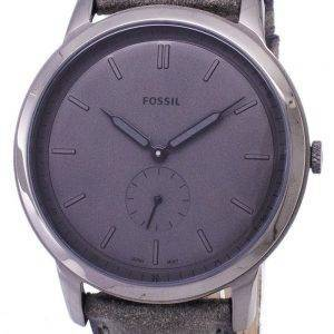 Fossilen minimalistische Quarz Herrenuhr FS5445