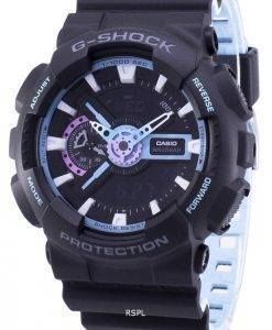 Casio G-Shock Herrenuhr stoßfest Analog Digital GA-110PC-1A GA110PC-1A