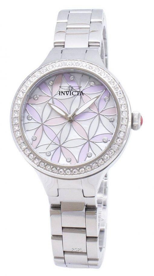 Invicta Wildflower 28823 Diamant Akzenten Analog Quarz Damenuhr
