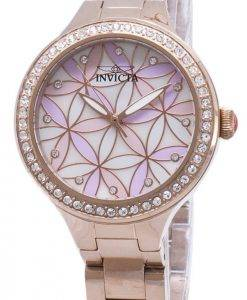 Invicta Wildflower 28824 Diamant Akzenten Analog Quarz Damenuhr