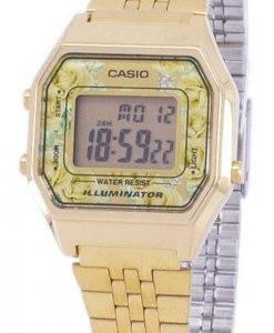 Casio Jahrgang Jugend Illuminator digitale LA680WGA - 9C Damenuhr