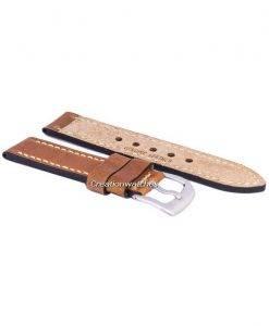 Braun-Verhältnis Marke Lederband 22mm