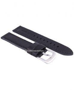 Schwarze Verhältnis Marke Lederband 20mm