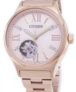 Citizen Automatik-PC1003-58 X Diamant Akzenten Analog Damenuhr