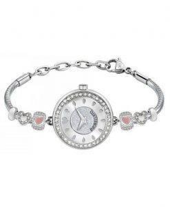 MORELLATO Drops Quarz Diamant Akzenten R0153122592 Damenuhr