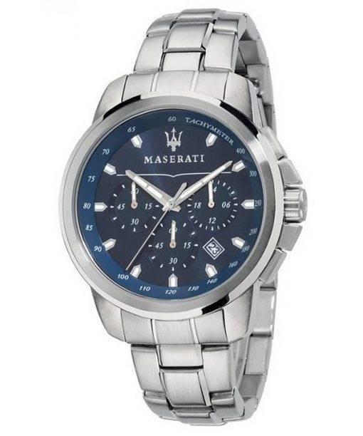 Maserati Successo Chronograph Tachymeter Quarz R8873621002 Herrenuhr